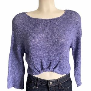 Urban Outfitters | Ecotè | Cropped Knit Sweater